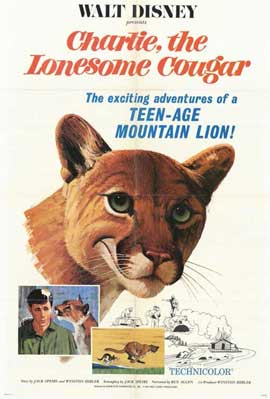 Charlie, the Lonesome Cougar - 11 x 17 Movie Poster - Style A