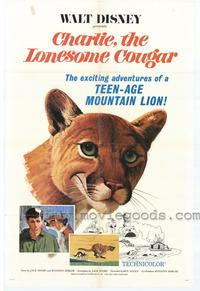 Charlie, the Lonesome Cougar - 43 x 62 Movie Poster - Bus Shelter Style A