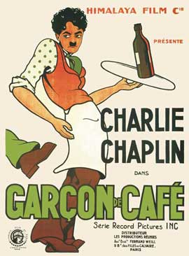 Charlie the Waiter - 11 x 17 Movie Poster - French Style B