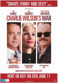 Charlie Wilson's War - 43 x 62 Movie Poster - Bus Shelter Style D