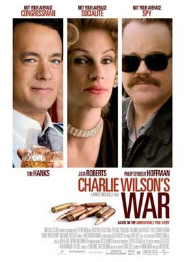 Charlie Wilson's War - 27 x 40 Movie Poster - Swedish Style H