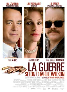 Charlie Wilson's War - 27 x 40 Movie Poster - French Style A