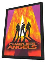 Charlie's Angels - 11 x 17 Movie Poster - Style A - in Deluxe Wood Frame