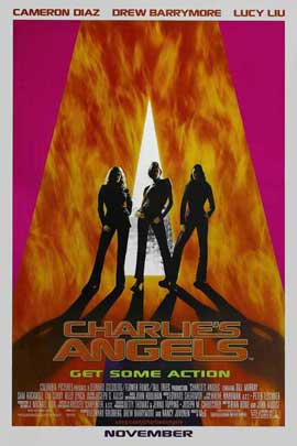 Charlie's Angels - 27 x 40 Movie Poster - Style B