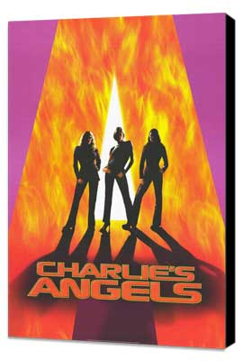 Charlie's Angels - 27 x 40 Movie Poster - Style A - Museum Wrapped Canvas