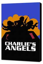 Charlie's Angels (TV) - 27 x 40 TV Poster - Style A - Museum Wrapped Canvas
