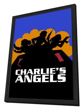 Charlie's Angels (TV) - 11 x 17 TV Poster - Style C - in Deluxe Wood Frame