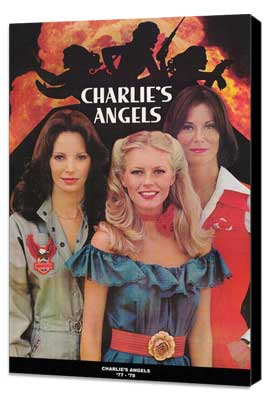 Charlie's Angels (TV) - 27 x 40 TV Poster - Style B - Museum Wrapped Canvas