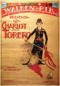 Charlot Torero Espanol - 27 x 40 Movie Poster - Spanish Style A