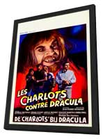 Charlots contre Dracula, Les - 27 x 40 Movie Poster - Belgian Style A - in Deluxe Wood Frame