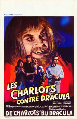 Charlots contre Dracula, Les - 11 x 17 Movie Poster - Belgian Style A