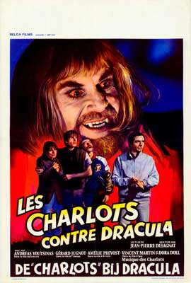 Charlots contre Dracula, Les - 27 x 40 Movie Poster - Belgian Style A