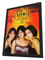 Charmed (TV) - 11 x 17 TV Poster - Style B - in Deluxe Wood Frame