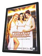 Charmed (TV) - 11 x 17 TV Poster - Style A - in Deluxe Wood Frame