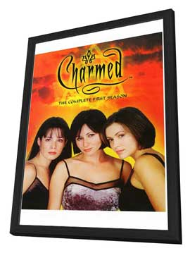 Charmed (TV) - 27 x 40 TV Poster - Style A - in Deluxe Wood Frame
