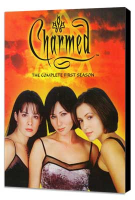 Charmed (TV) - 11 x 17 TV Poster - Style B - Museum Wrapped Canvas