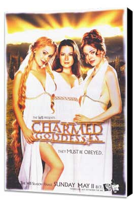 Charmed (TV) - 11 x 17 TV Poster - Style A - Museum Wrapped Canvas