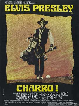 Charro! - 11 x 17 Movie Poster - French Style A