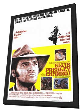Charro! - 11 x 17 Movie Poster - Style A - in Deluxe Wood Frame