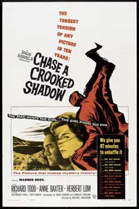 Chase a Crooked Shadow - 11 x 17 Movie Poster - Style A