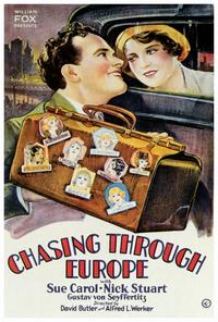 Chasing Through Europe - 27 x 40 Movie Poster - Style A