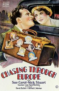 Chasing Through Europe - 43 x 62 Movie Poster - Bus Shelter Style A