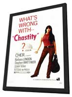 Chastity - 27 x 40 Movie Poster - Style A - in Deluxe Wood Frame