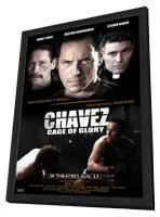 Chavez Cage of Glory - 11 x 17 Movie Poster - Style A - in Deluxe Wood Frame