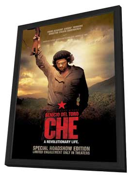 Che: Part Two - 27 x 40 Movie Poster - Style A - in Deluxe Wood Frame