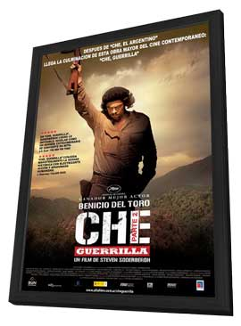 Che: Part Two - 11 x 17 Movie Poster - Argentine Style A - in Deluxe Wood Frame