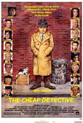 The Cheap Detective - 27 x 40 Movie Poster - Style A