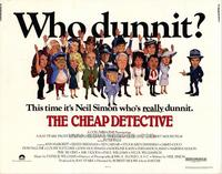 The Cheap Detective - 22 x 28 Movie Poster - Half Sheet Style A