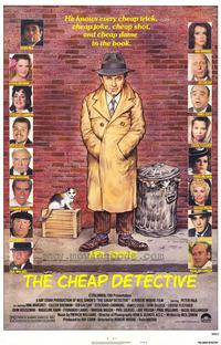 The Cheap Detective - 43 x 62 Movie Poster - Bus Shelter Style A