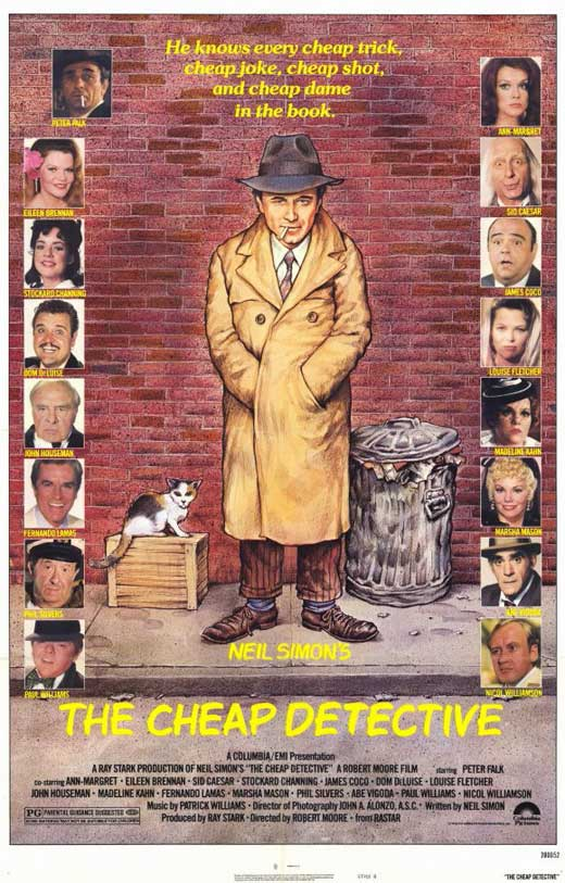The cheap detective movie posters from movie poster shop for Cheap prints and posters