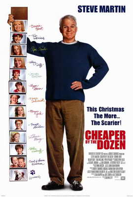 Cheaper by the Dozen - 27 x 40 Movie Poster - Style A