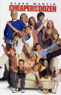 Cheaper by the Dozen - 27 x 40 Movie Poster - Style B