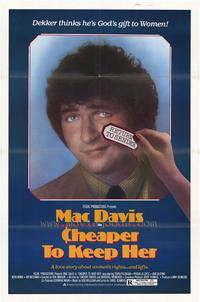 Cheaper to Keep Her - 43 x 62 Movie Poster - Bus Shelter Style A