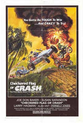 Checkered Flag or Crash - 11 x 17 Movie Poster - Style A