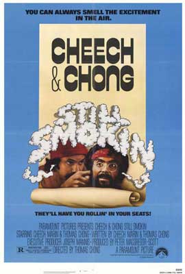 Cheech and Chong: Still Smokin' - 27 x 40 Movie Poster - Style A