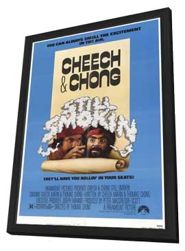 Cheech and Chong: Still Smokin' - 11 x 17 Movie Poster - Style A - in Deluxe Wood Frame