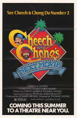 Cheech and Chong's Next Movie - 27 x 40 Movie Poster - Style B
