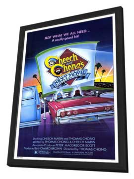 Cheech and Chong's Next Movie - 27 x 40 Movie Poster - Style A - in Deluxe Wood Frame