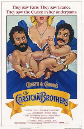 Cheech and Chong's The Corsican Brothers - 11 x 17 Movie Poster - Style A