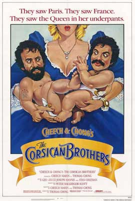 Cheech and Chong's The Corsican Brothers - 27 x 40 Movie Poster - Style A