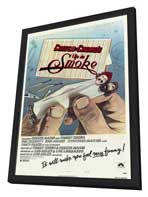 Cheech and Chong's Up in Smoke - 27 x 40 Movie Poster - Style A - in Deluxe Wood Frame