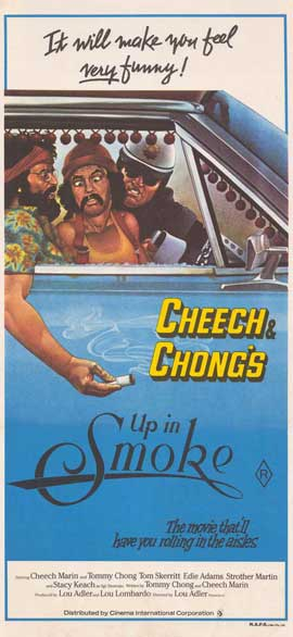 Cheech and Chong's Up in Smoke - 11 x 17 Movie Poster - Australian Style A