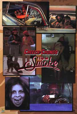 Cheech and Chong's Up in Smoke - 27 x 40 Movie Poster - Style B