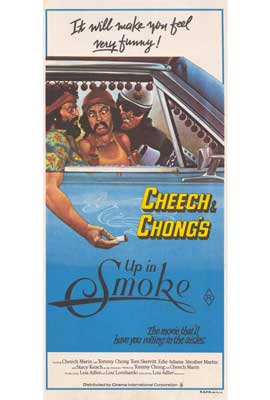 Cheech and Chong's Up in Smoke - 27 x 40 Movie Poster - Australian Style A