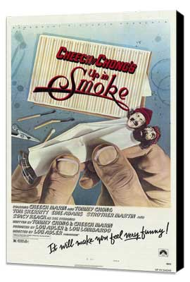 Cheech and Chong's Up in Smoke - 27 x 40 Movie Poster - Style A - Museum Wrapped Canvas