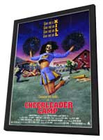 Cheerleader Camp - 11 x 17 Movie Poster - Style A - in Deluxe Wood Frame